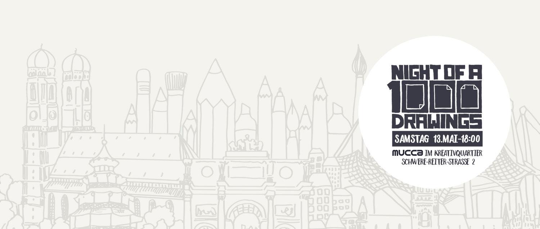 1000 Drawings Munich